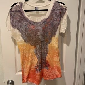 3/$10 Free people shirt L .